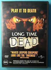 Long Time Dead DVD - Rare OOP HORROR THRILLER