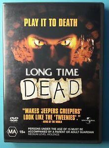 Long Time Dead DVD - Rare Region 4 Australia OOP Horror THRILLER
