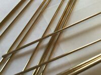 """Model Engineering Brass Round Bar imperial 1/8"""" 3/32"""" 1/16"""" 2.38mm 1.58mm 3.18mm"""
