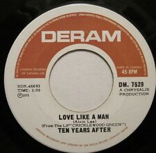 TEN YEARS AFTER - Love Like a Man/If You Should Love Me45 CDN 60s Psych OOP L@@K