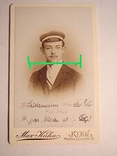 Kiel - Wingolf - SS 1900 - Magnus Weidemann - CDV / Künstler Siethwende Sylt