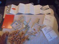 ANCIEN JEU de CONSTRUCTION 1965 Jean Pierre Construis ta Maison St Amand Brique
