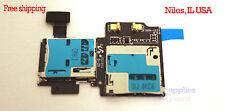 Samsung Galaxy S4 IV i9500 i337 i545 Micro SD SIM Card Tray Slot Holder Flex HQ