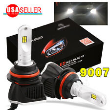 2X 9007 HB5 LED Headlight Kit 160W 6000K 1600LM High Low Beam Bulbs HID White