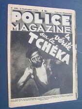 Police 1934 198 Tcheka NICE CéZY SAINT JULIEN DU SAULT