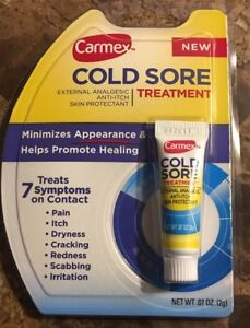 NEW CARMEX COLD SORE TREATMENT .07 OZ EXPIRES 10/18
