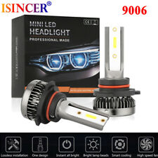 9006 HB4 1500W 150000LM Mini LED Headlight Bulbs CSP Driving Lamps 6000K White