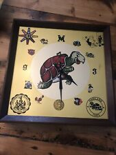 Vintage Terps UM NCAA UNIVERSITY OF MARYLAND TERRAPINS Clock Rare