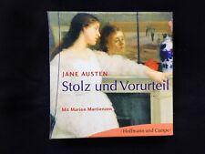 Jane AUSTEN • STOLZ UND VORURTEIL• Lesung 7 CDs in Box • Marion MARTIENZEN •