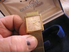 Vintage Germinal Voltaire Watch in Original Box 17 Jewels