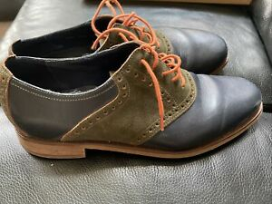 Cole Haan Navy Oxford Dress Shoes size 10