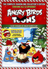 Angry Birds Toons: The Complete Season One (DVD, 2014, 2-Disc Set) Brand New!