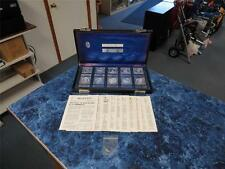 Chase Commemorative Society Silver (.999) Proof Set – The First Ten w/Case & Key