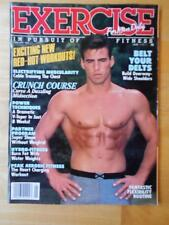 EXERCISE FOR MEN ONLY bodybuilding muscle fitness magazine 1-94