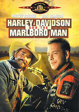 HARLEY DAVIDSON AND THE MARLBORO MAN (DVD, 2001) - NEW RARE DVD