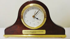 Vintage Mahogany Mantel Clock Nora Lam Chinese Christian Ministries Runs Great!