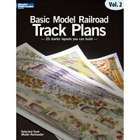 Kalmbach Publishing Co. Basic Model Railroading Track Plans Volume 2