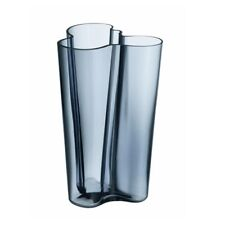 Iittala Aalto Vase 251mm Regenblau Neu/ovp Glas blau
