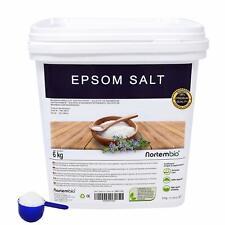 Sel d'Epsom 6 Kg Source concentrée de Magnésium Sel 100% Naturel Qualité + Neuf