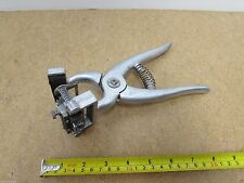 Vintage Stone Tattoo ST-2 Pliers with Ear Release Cattle Goats Sheep USA Made