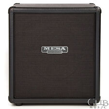 Mesa Boogie 1x12 Mini Recto Straight Guitar Cabinet, Black - 0.112M.STR.BB.F