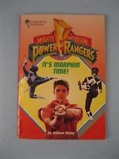 Mighty Morphin Power Rangers Its Morphin Time Vintage Book 1994 William McCay O