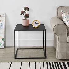[en.casa] Beistelltisch 50x55x55cm Konsole Couchtisch Metall Kratzfest Tisch