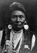 1900/72 Vintage Matted EDWARD CURTIS Native American Indian Nez Percé Photo14X11