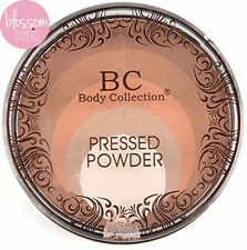 Body Collection Multi Toned Bronzer Highlighter Compact Bronzing Pressed  Powder