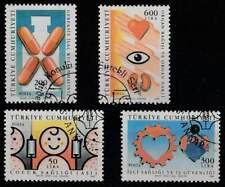 Turkije gestempeld 1988 used 2810-2813 - Gezondheid (1)