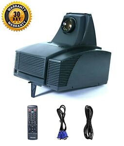 Optoma EzPro 585 TFT LCD Projector 500 ANSI Working Great Accessories - bundle