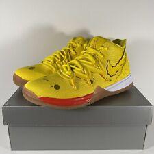 Nike Kyrie 5 Spongebob Squarepants Yellow Gum Brown Mens & GS Size CJ7227-700
