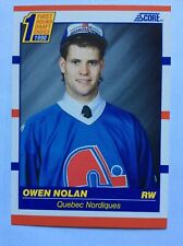 1990 Score Owen Nolan Rookie Freshy Pulled From Pack