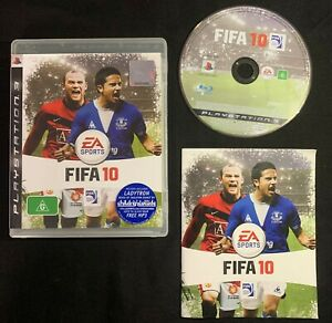 PlayStation 3 - FIFA 10 Soccer Game EA Sports 2010 Complete w/ Manual + FREEPOST