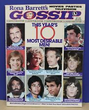 Rona Barrett's Gossip Magazine May 1978 Exc 10 most desirable men