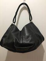 Bottega Veneta Bag Black Leather Hobo Shoulder Bag