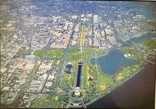 Aerial View Washington, D.C. McMillian Plan,More Vintage Postcard, Unposted