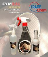 CYMBAL RESTORER - Extra Strong Solution 125ml Supreme Cleaning