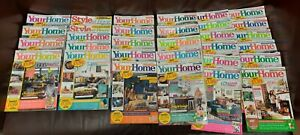 Job Lot of 31 Your Home & Home Style Magazines - 2016 to 2021
