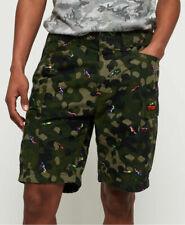 Nueva camisa para hombre para hombre Rookie Edition Paracaídas Cargo de Superdry Leopardo Camo Aop