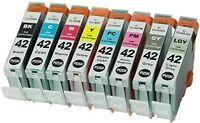 16PK CLI-42 CLI42 42 INK CARTRIDGE FOR CANON PRINTER Pixma Pro-100 Pro100