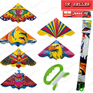 4ft Deluxe Kite for Kids, Easy Flyer Kites for Children and Adults