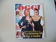 - OGGI 47/1998 BARBARA D'URSO/CLAUDIA KOLL/RAQUEL WELCH/ELISABETTA GARDINI