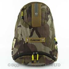 NEW Mens Boys CAMOUFLAGE BACKPACK RUCKSACK By OSSESSED Camo School College Bag