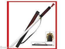 "37""  Red/Blk NINJA SWORD Samurai KATANA STEEL w/SHEATH!"