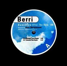 """12"""" - BERRI  - Sunshine After The Rain '96 (DISCO) NUEVO, NEW STORE STOCK LISTEN"""