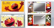Nintendo DS Lite - ELMO Sesame Street  - 4 Piece Decal / Sticker Skin UK