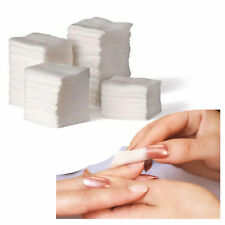 1000x Beauty Polish UV Gel Tips Remover Cotton Cleaner Wipes Nail Art Lint Pads