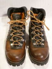 Vintage Kush N Kollar CHIPPEWA brown leather boots, 7D,