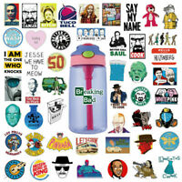 50Pcs Vinyl Breaking bad Stickers Bomb Skateboard Laptop Water bottle Decals Lot